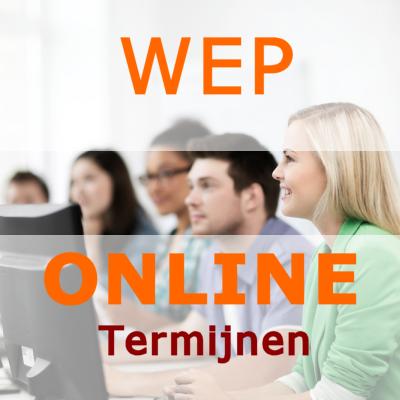 WEP termijnen